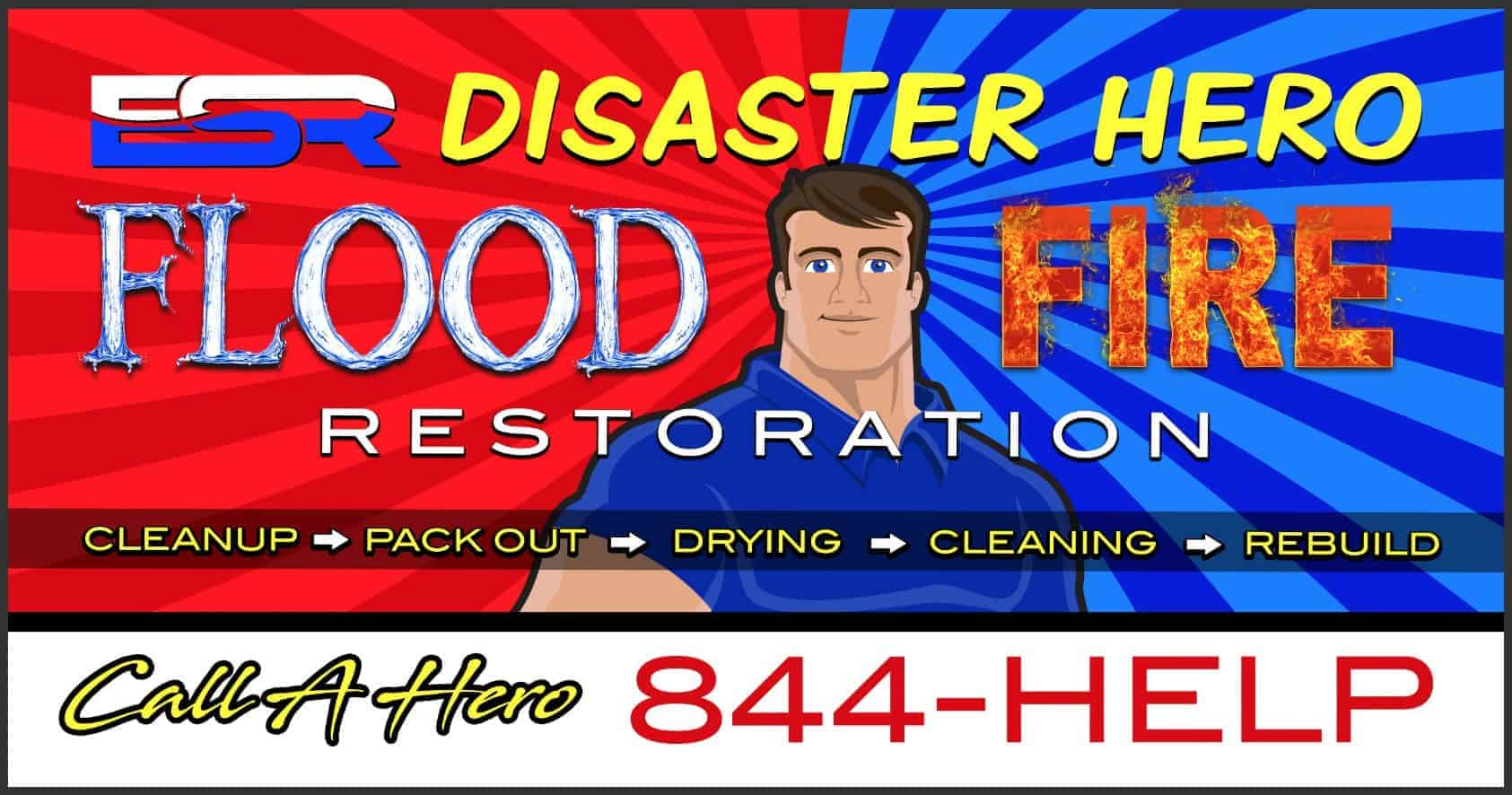 Jenks flood fire damage repair